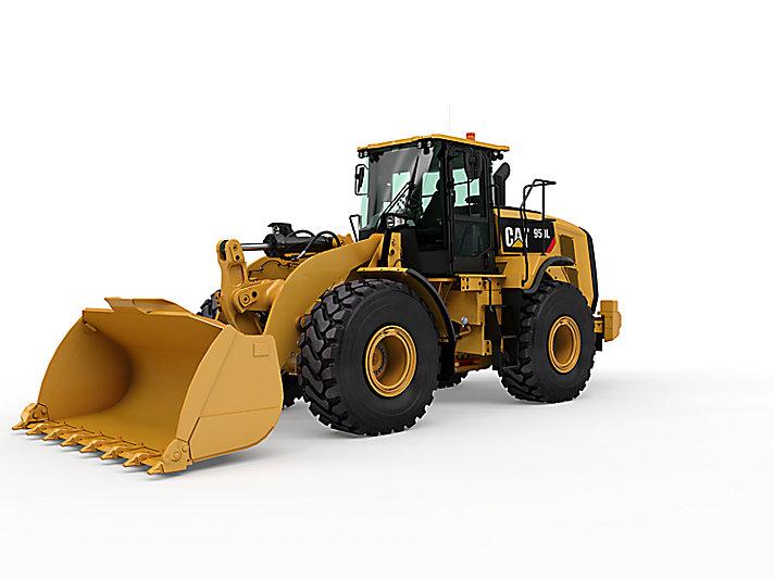 Máy xúc lật bánh lốp qua sử dụng - Phú Thái Cat