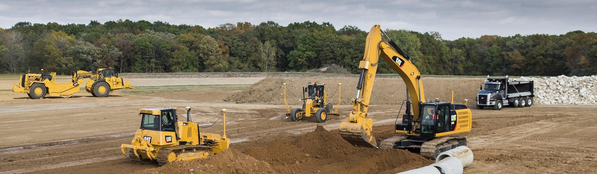 Máy công trình & khai mỏ