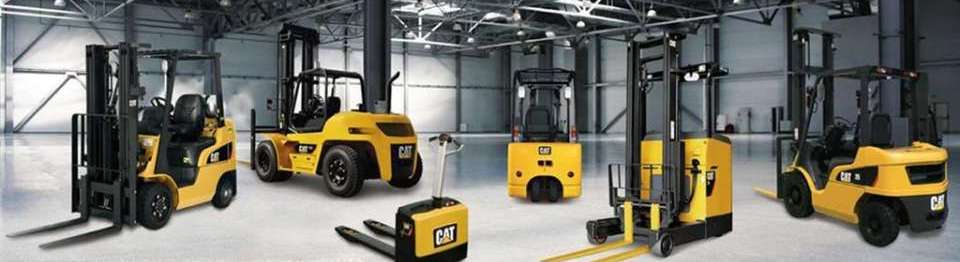 Xe nâng hàng Cat - Phú Thái Cat