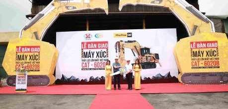 CAT 6020B – Máy xúc đào thủy lực lớn nhất Việt Nam - Phú Thái Cat