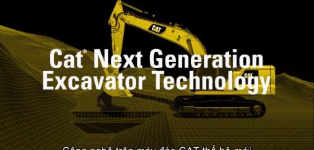 Công nghệ Cat® Connect trên Máy đào CAT Thế hệ mới - Phú Thái Cat