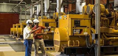Caterpillar trình diễn các giải pháp cấp điện - Phú Thái Cat