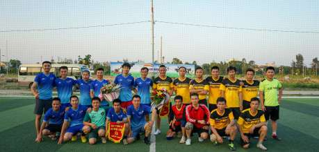 Phú Thái Cat tổ chức giao hữu bóng đá với khách hàng - Phú Thái Cat