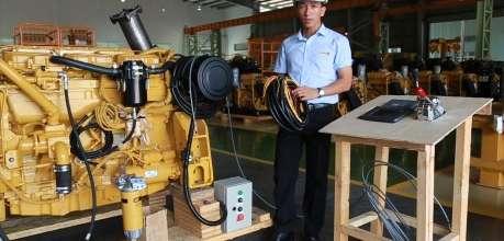 Hướng dẫn lắp đặt các hệ thống cho động cơ C12 - Phú Thái Cat