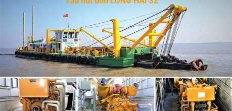 Động cơ Cat – Trái tim của tàu hút bùn LONG HẢI 32 - Phú Thái Cat