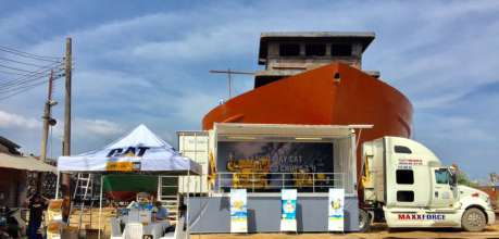 Trưng bày Động cơ máy thủy CAT - Phú Thái Cat