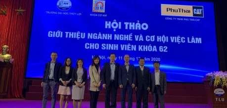 Giới thiệu Ngành nghề và Cơ hội việc làm cho Sinh viên - Phú Thái Cat