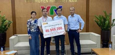 Phú Thái Cat ủng hộ quỹ Trái tim cho em - Phú Thái Cat