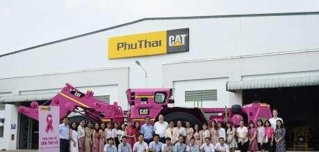 Phú Thái Cat nâng cao nhận thức về ung thư vú - Phú Thái Cat