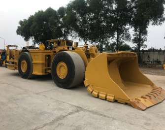 Máy xúc lật hầm lò qua sử dụng Cat R1700G - Phú Thái Cat