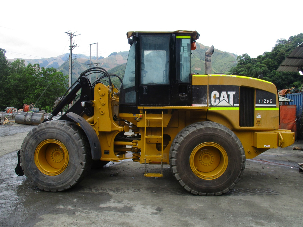 Máy xúc lật bánh lốp qua sử dụng Cat IT28G - Phú Thái Cat